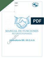 MANUAL DE FUNCIONES RR.HH GRUPO