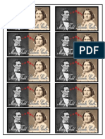 Mary Todd Lincoln Cake Labels