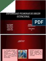 Enfermedad Pulmonar de Origen Ocupacional