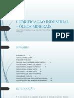 LUBRIFICAÇÃO INDUSTRIAL – ÓLEOS MINERAIS (1)