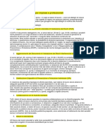 Le dieci regole principali per imprese e professionisti