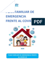 Plan familiar y soporte socioemocional