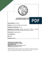 PROGRAMA HISTORIA DE AMERICA II (COLONIAL)