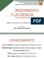 Tema 1.-Conocimiento y Ciencia
