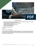 ISO 27001 Lead Implementer FR v.6.0 Day-3