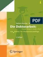 Huber, Klaus-Peter_ Messing, Barbara - Die Doktorarbeit_ vom Start zum Ziel _ Leidtfaden für Promotionswillige (2007, Springer-Verlag Berlin Heidelberg) - libgen.lc