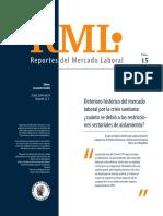 Reporte mercado laboral 2020