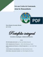 PORTAFOLIO INTEGRADO