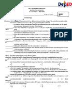 Business Math 1st Quarter exam