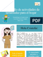 Cuadernillo de actividades CRISTOFER