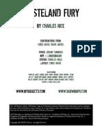 Wasteland Fury - Post-Apocalyptic Martial Arts - Printer Friendly