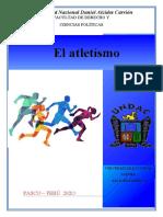 ENSAYO EL ATLETISMO - GRISELL JADEE CHACA CASTAÑEDA