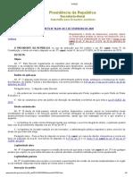 DECRETO Nº 10.229, DE 5 DE FEVEREIRO DE 2020
