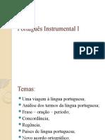 Português Instrumental I