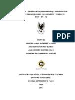 LABORATORIO No. 18 DENSIDAD BULK (PESO UNITARIO) Y PORCENTAJE DE VACÍOS DE LOS AGREGADOS EN ESTADO SUELTO Y COMPACTO