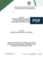 EVIDENCIA 2 DISEÑO DE ARQUITECTURA DE SOFTWARE Y HARDWARE.docx