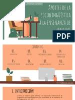 Aportes de la sociolinguistica essay