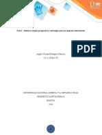 Fase 4 - Elaborar el plan prospectivo y estratégico para la empresa seleccionadaFinal