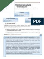 Conceptos básicos, variables y representación de los datos (1)