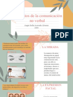 ELEMENTOS DE LA COMUNICACION NO VERBAL