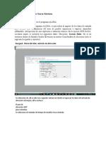 Simulacion con programa ALOHA