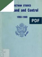 Vietnam Studies Command and Control, 1950-1969