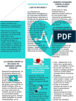 Turquesa Vector de Corazón Médico Folleto (4)