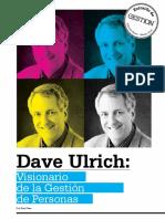 Visionario de la Gestión de Personas - D. Ulrich