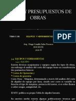 CLASES DE COSTOS C-06 - 2020-II