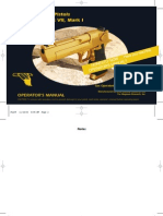 Desert Eagle Semi-automatic Pistol Manual