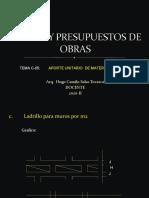 CLASES DE COSTOS C-05 - 2020-II