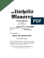 Mauser 98K - Model 48 Rifle Manual