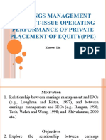 Earnings Management and Private Placement of Equity_07_02_2018