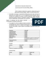 Primer proyecto, tabletas de Paracetamol 200mg, segunda parte