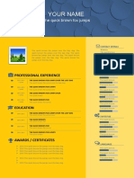 Free-PowerPoint-CV-Template