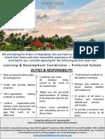 Job Flash - Training & Development Coordinator (2)