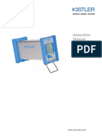 Kistler 5018 manual