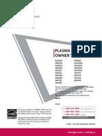 LG Plasma Manual