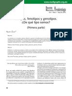 Biotipos Fenotipos Genotipos (ZERON RMP 2010)
