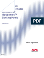 Improving Rack Cooling Performance Using Airflow Management™ Blanking Panels