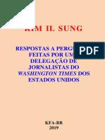 Entrevista ao Washington Times - KIM IL SUNG (Português).pdf