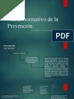 Marco normativo de la Prevención