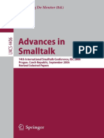 Advances in Smalltalk 14th International Smalltalk Conference, ISC 2006, Prague, Czech Republic, September 4-8, 2006, Revised Selected Papers ( PDFDrive )