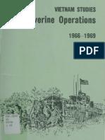 Vietnam Studies Riverine Operations 1966-1969