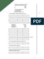 Job Order Costing Work Sheet