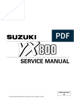 Suzuki VX800 '90-'96 service manual (99500-38015-03E)