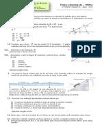 Teste Formativo Nº6 - trabalho e energia