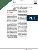 Antitumorali e chemiopreventivi combattono il Covid - Il Corriere Adriatico del 20 novembre 2020