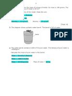 Density Quiz 2 by Soham