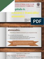 Capítulo 6. Lesiones y homicidios atenuados..pptx